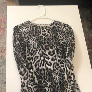 Michael Kors Dresses - Michael Kors Black & White Leopard Dress